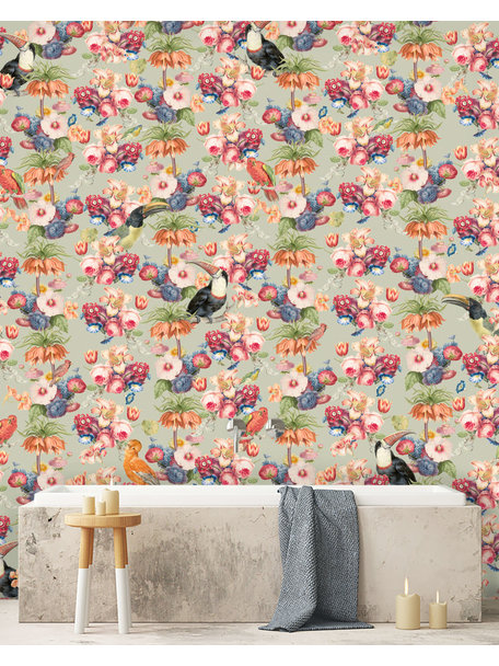 Creative Lab Amsterdam Once upon a time Bathroom Wallpaper