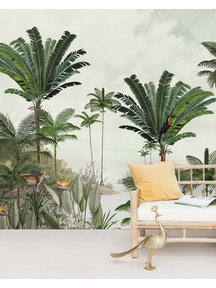 Creative Lab Amsterdam Rainforest Wallpaper