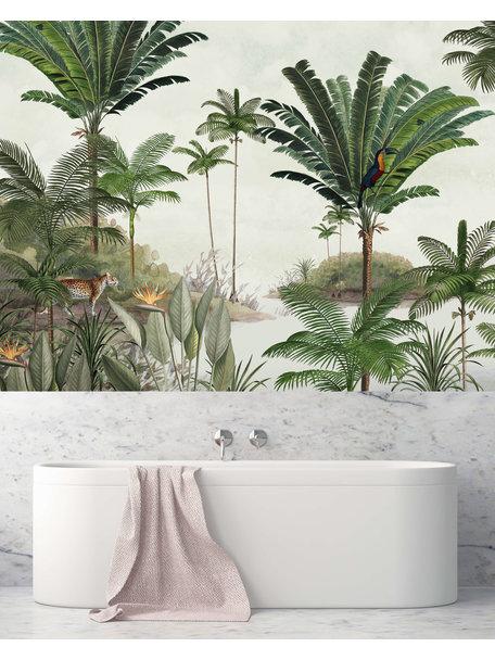 Creative Lab Amsterdam Rainforest Bathroom Wallpaper
