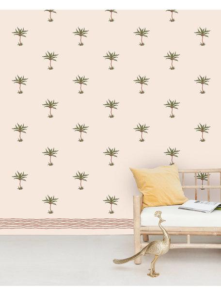 Creative Lab Amsterdam Subtle Palms Wallpaper Mural