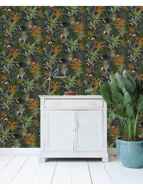 Creative Lab Amsterdam Mighty Jungle Wallpaper on roll