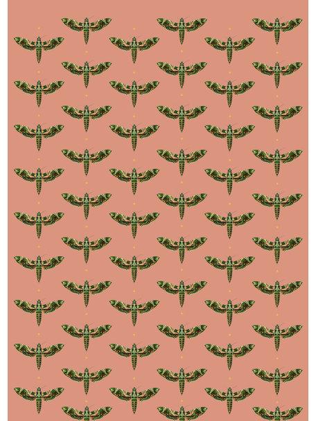 Creative Lab Amsterdam Dusty Pink Wallpaper Mural