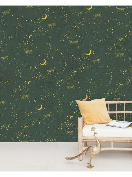 Creative Lab Amsterdam Stargazer Wallpaper Mural Gold