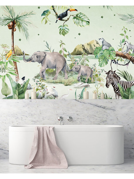 Creative Lab Amsterdam Anouk Hoogendijk Bathroom Wallpaper