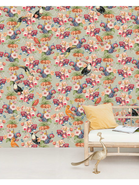 Creative Lab Amsterdam Once upon a time wallpaper Mural