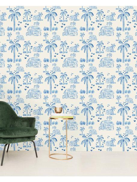 Creative Lab Amsterdam Maui Beach Blue Wallpaper