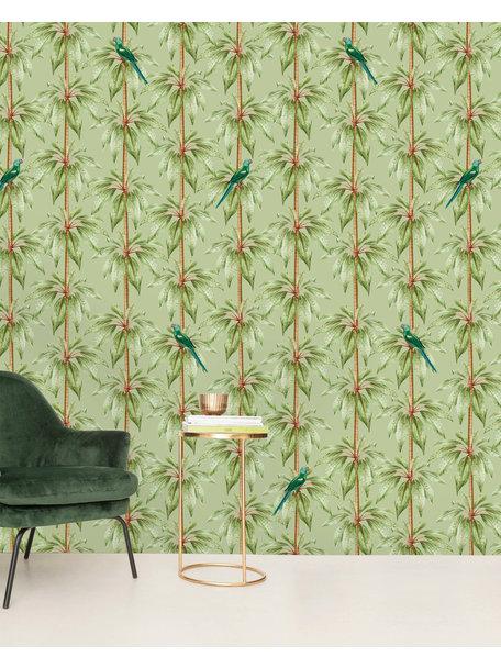 Creative Lab Amsterdam Canary Club Green Wallpaper