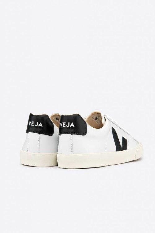 Esplar low logo leather extra white black