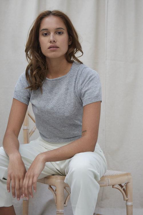 Lido Pullover Short Grey