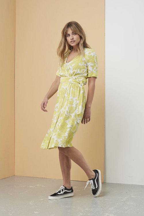 Adaria Tropically Yellow Dress