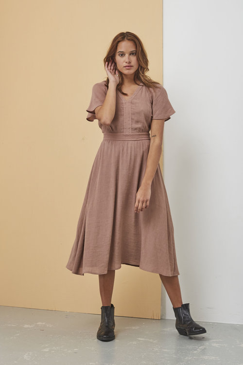 Sessun Goldana Dress Cameo Rose