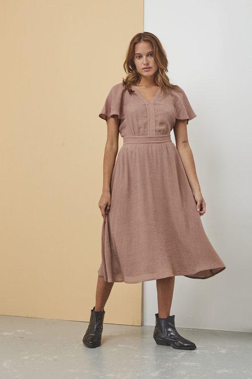 Goldana Dress Cameo Rose