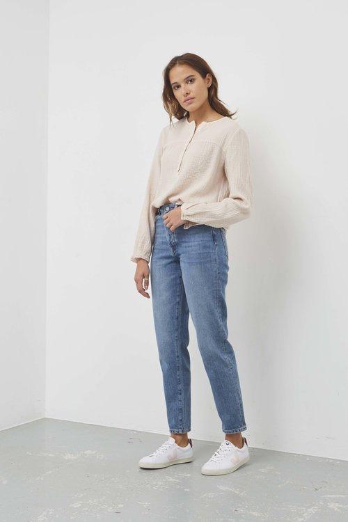 Selected Femme Lou High Waist Jeans