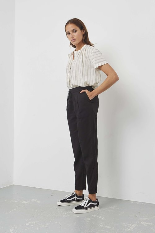 Selected Femme Porta Mid Waist Pants