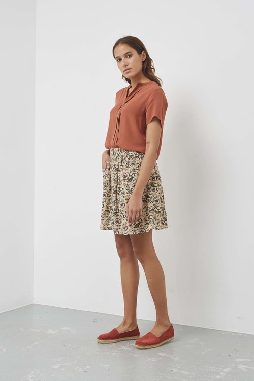 By Bar Luna Flower Skirt