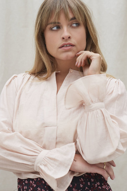 By Bar Lucy Blouse Misty Rose