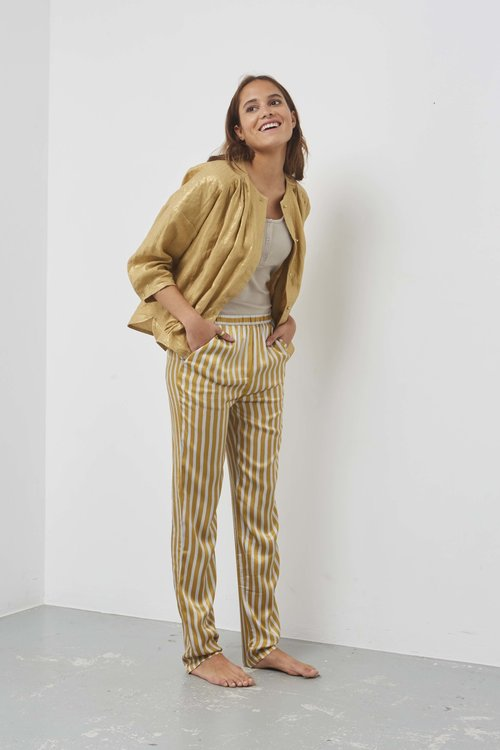 Humanoid Sallie Pants Honey Stripe