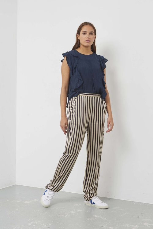 Humanoid Sallie Pants Night Stripe