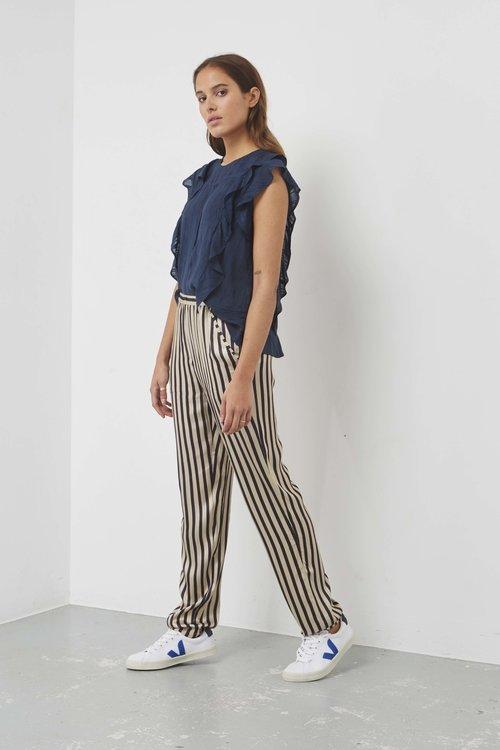 Sallie Pants Night Stripe