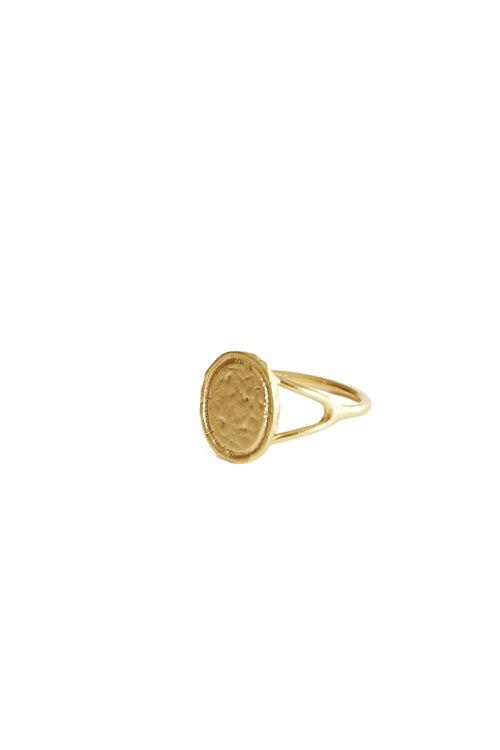 Mimi et Toi Piaf ring gold