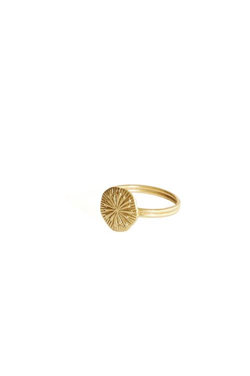 Mimi et Toi Florentine Ring Gold