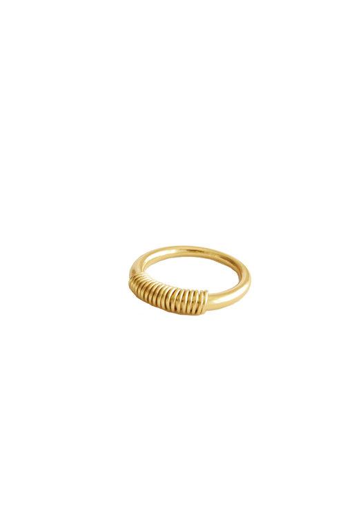 Mimi et Toi Charlotte Ring Gold