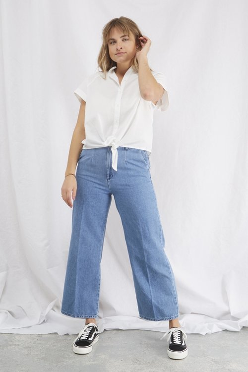Selected Femme Jenner Cropped Jeans