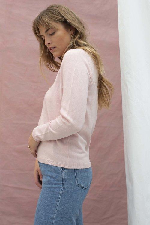Forte Pullover Light Pink