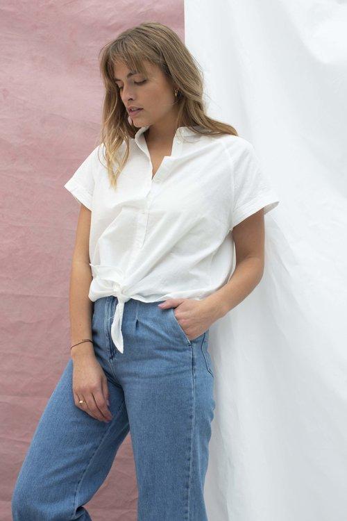 Selected Femme Summer Knot Shirt