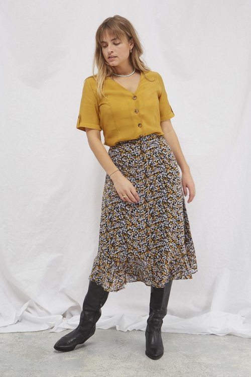 Gestuz Arienne Shirt Yellow