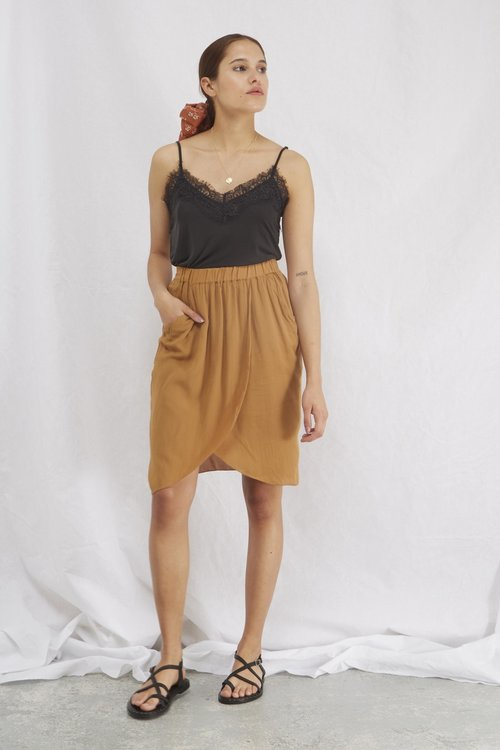 Marina Skirt Cognac