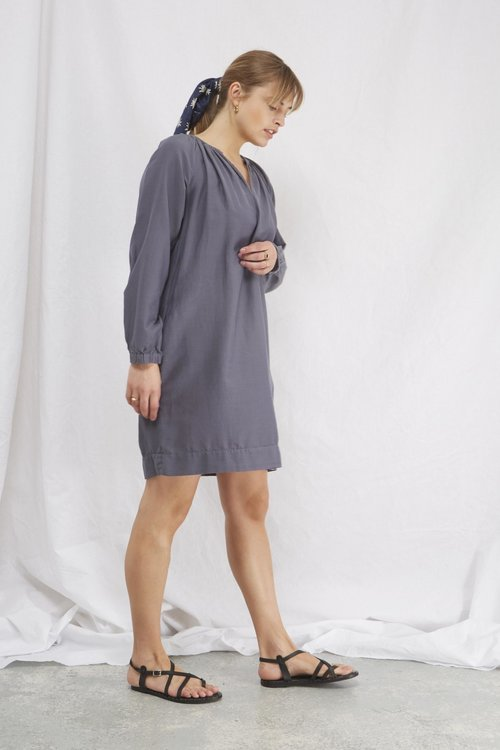 Berniss Dress Grisaille