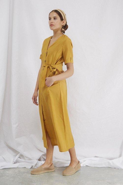 Arienne Dress Yellow