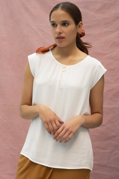 Knit-ted Fay Top Ivory