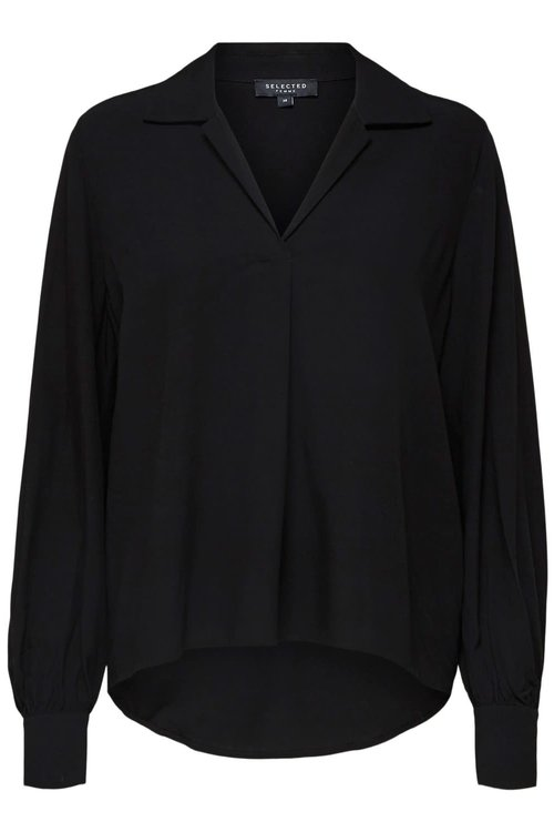 Selected Femme Daisy Blouse Black