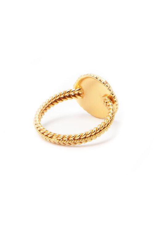 Creissant Ring