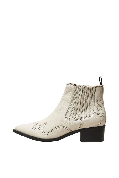 Selected Femme Elena Cowboy Leather Chelsea