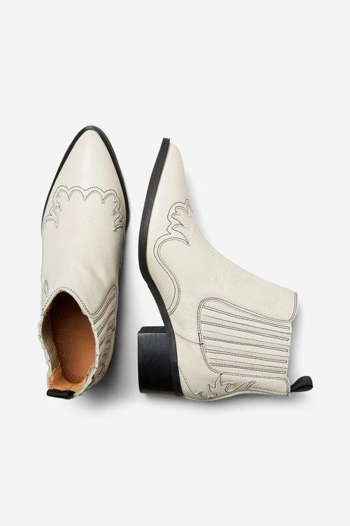 Elena Cowboy Leather Chelsea