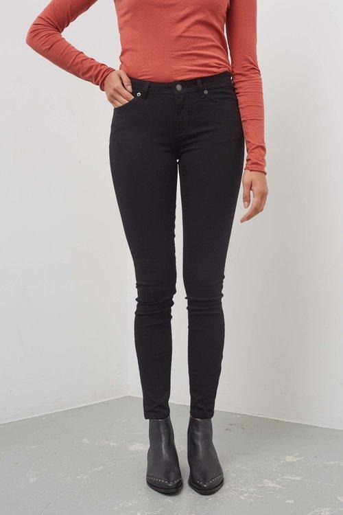 Selected Femme Ida Skinny Black Jeans