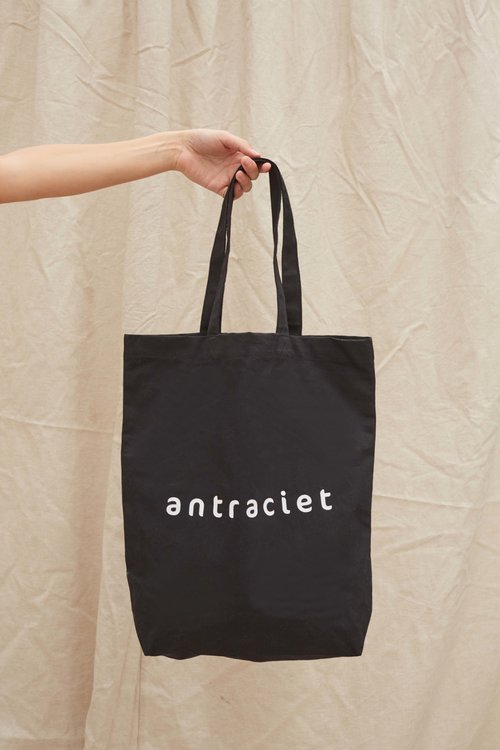 Antraciet Antraciet Tote Bag Black