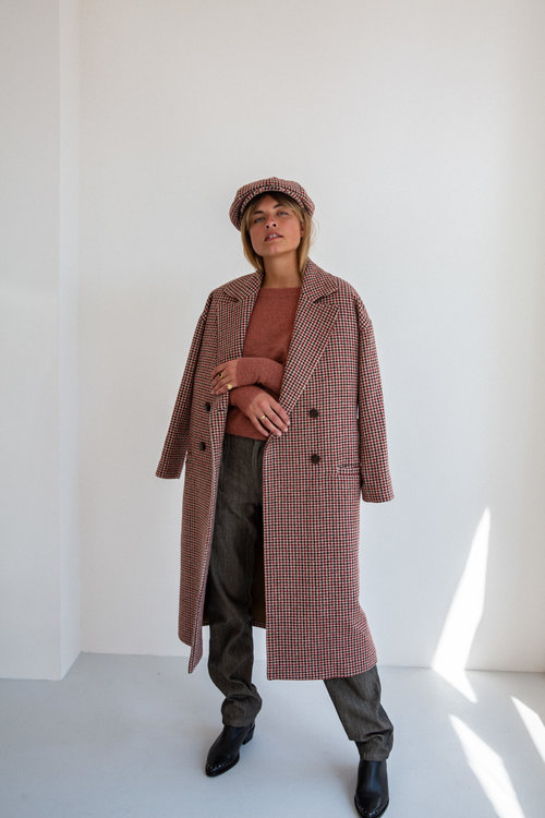 Ruby Tuesday Brune Coat