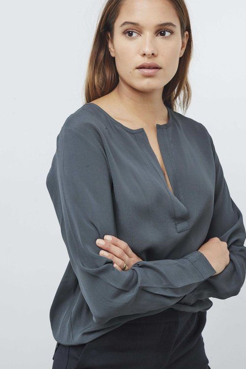 By Bar Dana Crepe Blouse