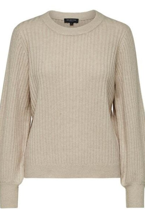 Selected Femme Rianna LS o-neck
