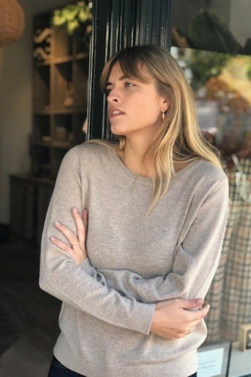 Faya Knit Cashmere o-neck