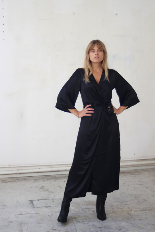 Selected Femme Dakota Ankle Wrap Dress
