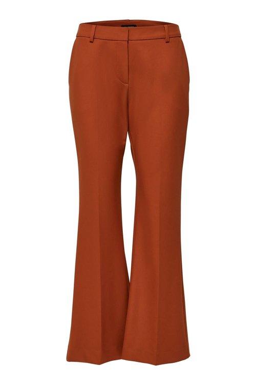 Ada MW Cropped Flared Pants