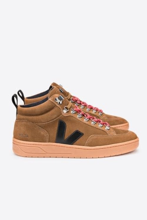 Veja Roraima Suede Brown Black Naturel