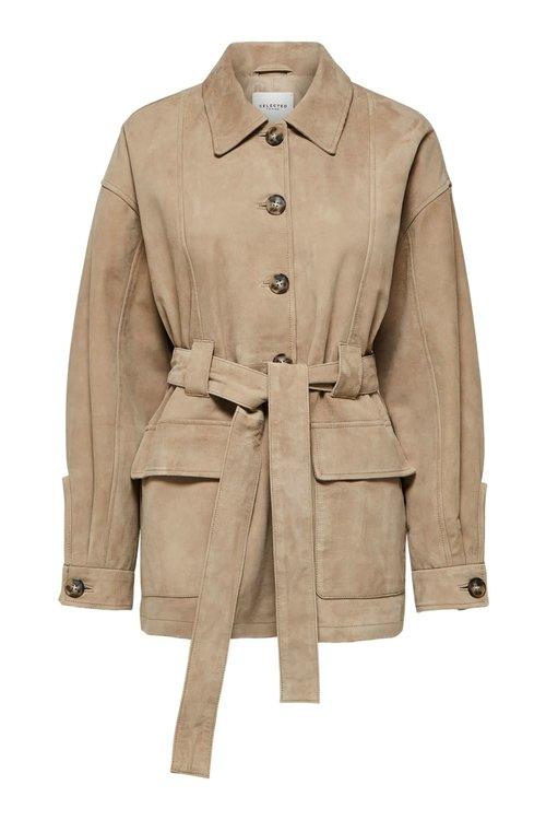 Selected Femme Ilja Suede Jacket