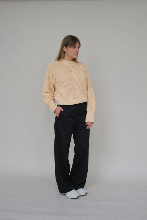 Line Pants Cotton