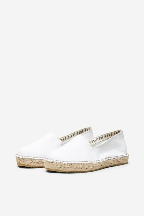 Selected Femme Marie Leather Espadrilles